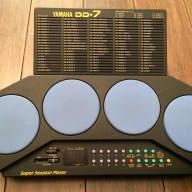 Yamaha DD-7 Electronic Drum Pads 1990s Black