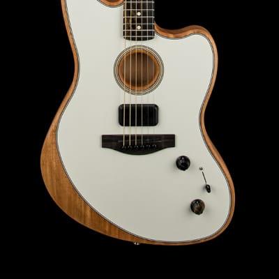 Fender American Acoustasonic Jazzmaster - Arctic White #2944A
