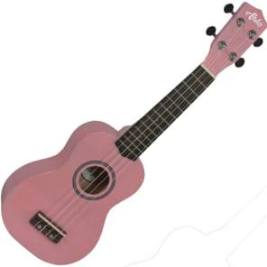 Aloha 200 PK Ukelele soprano color rosa for sale