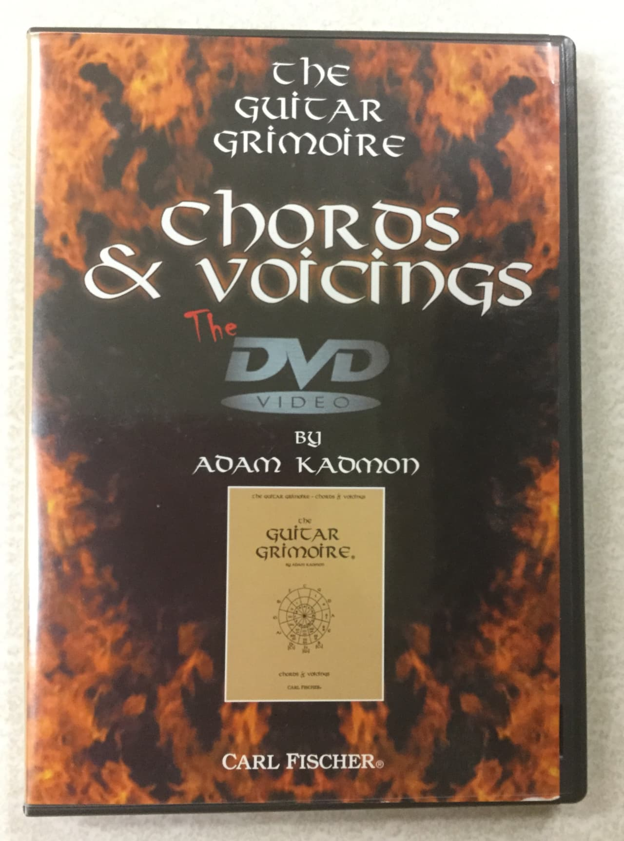 Guitar Grimoire Chords And Voicings Dvd Toys In The Attic Reverb