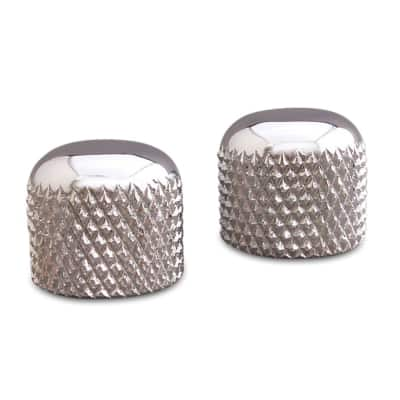 Rutters 1953 Tele Knob, set of 2 chrome plated for sale