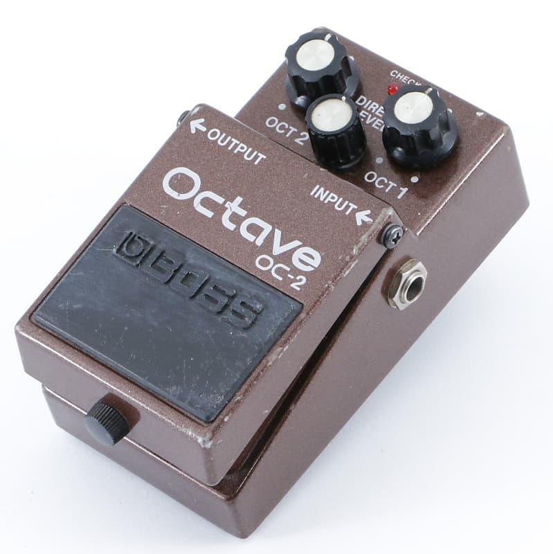 boss oc 2 octave octave generator guitar effects pedal reverb. Black Bedroom Furniture Sets. Home Design Ideas