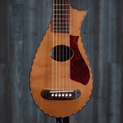 Vagabond Travel Guitar, All-Solid, Cedar Top, Pickup for sale