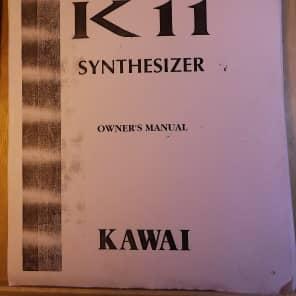 Kawai K11 Photocopied Manual