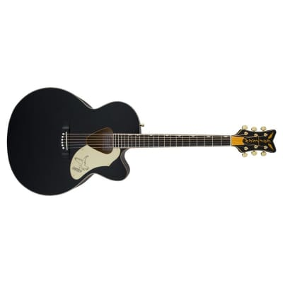 Gretsch G5022CBFE Rancher Falcon Jumbo Electro Acoustic, Black for sale