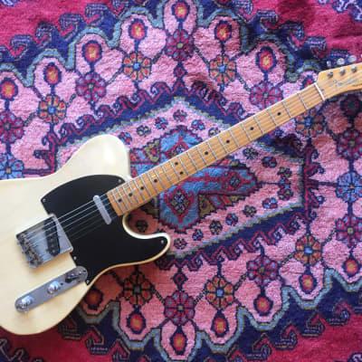 Fender Telecaster 1952 Black Guard (refinished) Original Parts
