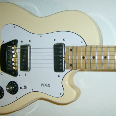Ovation Viper 1970's White for sale
