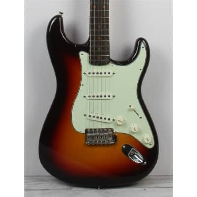 Fender Custom Shop '59 Stratocaster Vintage Custom, NOS, Chocolate 3 Tone Sunburst, Second Hand for sale