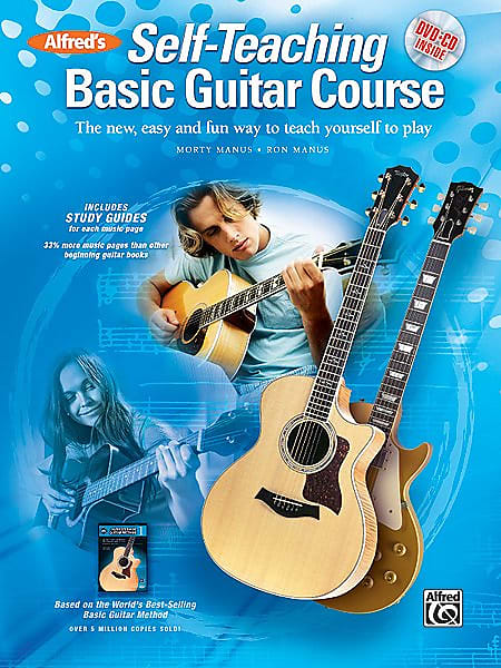 alfred 39 s self teaching basic guitar course the new easy reverb. Black Bedroom Furniture Sets. Home Design Ideas