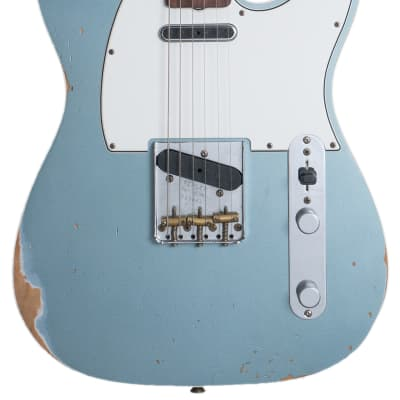 Fender Custom Shop '60s Telecaster 2018 NAMM Aged Blue Ice Metallic for sale