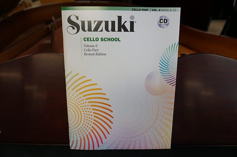 Suzuki Cello School Volume 6 Book & CD | No Limit Guitar