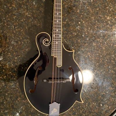 The Loar LM-600-BK Black F-Style Mandolin
