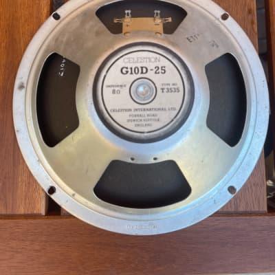 Celestion Speaker G10D-25 Marshall Lead 12 Baffle Plate Rocker Panel Grill Cloth Parts