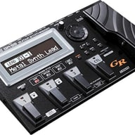 Roland GR-55GK-BK | USB Connectivity Guitar Synthesizer with GK-3 Divided Pickup