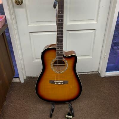 Kona acoustic electric guitar sunburst KSP1CESB for sale