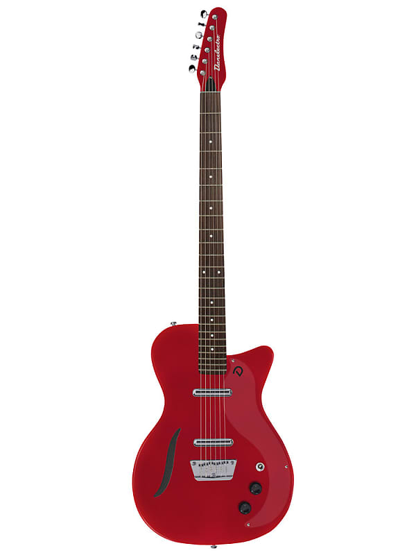 danelectro 39 56 baritone electric guitar red d56bar rd reverb