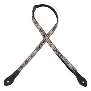 """Levy's MJ19UKE-003 Henderson Series 0.5"""" Woven Ukulele Strap - Design 3"""