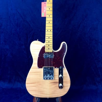 Fender Rarities Chambered Telecaster Flame Maple Top in Natural w/Maple Fretboard for sale