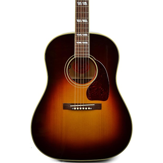 Musical Instruments & Gear Enthusiastic Gibson Sheryl Crow Southern Jumbo Special Sunburst 2015 With Original Hard Case