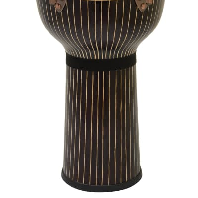 Tycoon 12 Master Hand-Crafted Pinstripe Djembe - Key Tuned