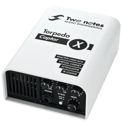 Two Notes Torpedo Captor X 16ohm Stereo Reactive Load Box / Attenuator