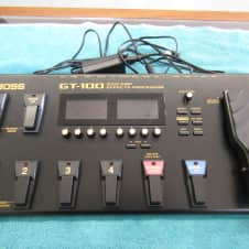 Boss Boss GT-100 Black Multi-Effects Processor w/ power supply (Used)
