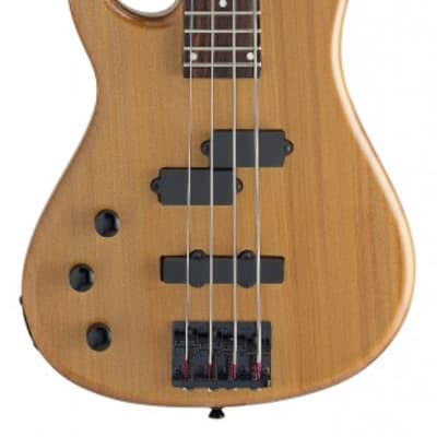 "Stagg BC300LH-N 4-string Standard ""Fusion"" Electric Bass Guitar, Natural Lefthanded"