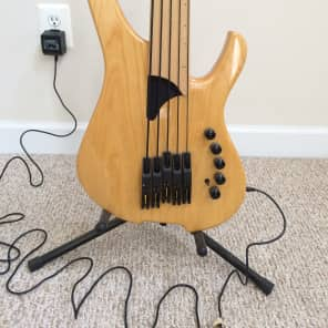 LightWave  Saber Optical Fretless 5 String Bass Natural Maple Pre Wilcox EXC Cond! 2004 Vintage Natu for sale