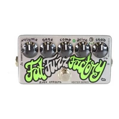 ZVex Vexter Fat Fuzz Factory Guitar Effects Pedal