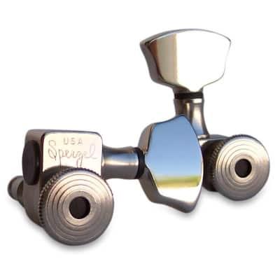 Sperzel Nickel Plated Trim Lock Tuners, 3 x 3 for sale
