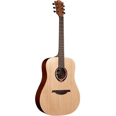 LAG T70D Dreadnought Canadian Spruce Top Acoustic Guitar for sale