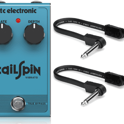 New TC Electronic Tailspin Vibrato Effects Pedal