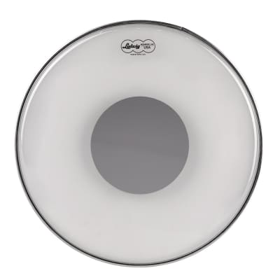 """Ludwig LW6116R Ambassador 16"""" Clear Silver Dot Drum Head"""