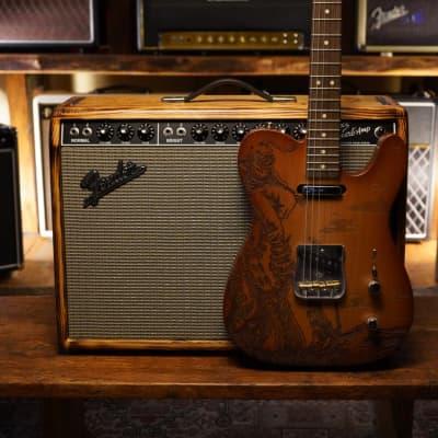 Fender Custom Shop Masterbuilt Kraken Tele & Kraken '64 Deluxe  Reverb (Set) - ONLY 5 UNITS for sale