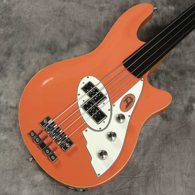 Duesenberg D Bass Fretless 4 Coral-Free Shipping* for sale