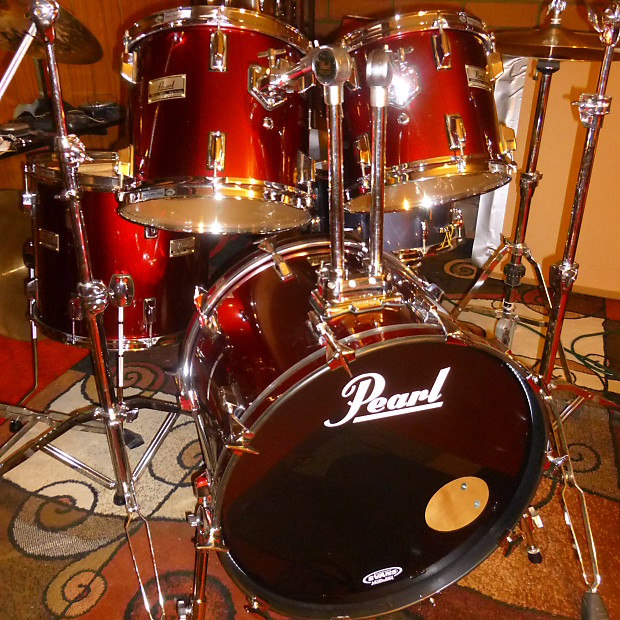 pearl mx maple drum kit made in usa totally reverb. Black Bedroom Furniture Sets. Home Design Ideas