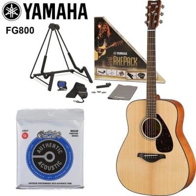 Yamaha FG800 Solid Top Acoustic Guitar 2020 Natural
