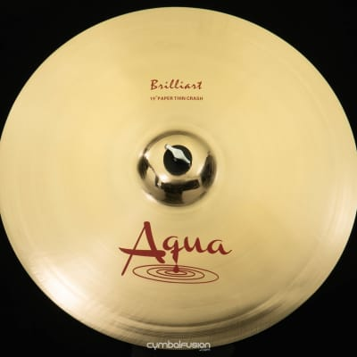 """Aqua 19"""" Paper Thin Crash Brilliant"""
