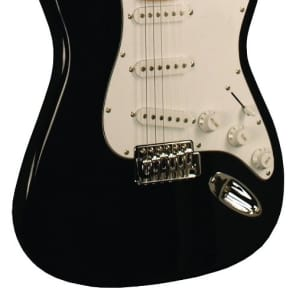 Indy Custom ICE-1BK Starting Line Electric Guitar - Black for sale