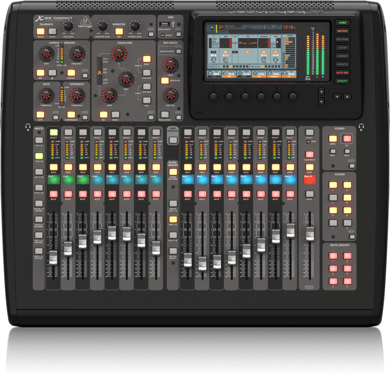 behringer x32 compact digital mixer mixing board reverb. Black Bedroom Furniture Sets. Home Design Ideas