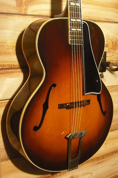 used gibson circa 1949 l4 archtop acoustic guitar w origianl reverb. Black Bedroom Furniture Sets. Home Design Ideas