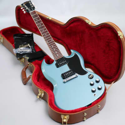 2019 Gibson USA SG Special Faded Pelham Blue & Gibson Hard Case for sale