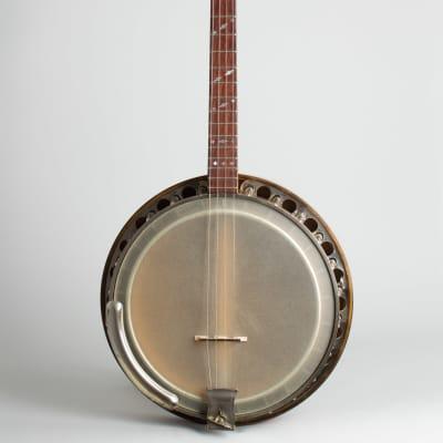 Paramount  Style A Tenor Banjo (1927), ser. #10466, black tolex hard shell case. for sale