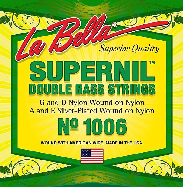 la bella 1006 supernil double bass string set gearnuts reverb. Black Bedroom Furniture Sets. Home Design Ideas