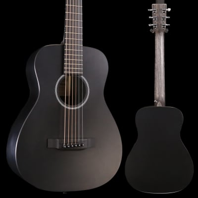 Martin LX BLACK New Little Martin w/ Deluxe Bag S/N 319489 3lbs 7.8oz for sale