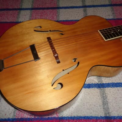 Slingerland Archtop Acoustic 1930's Blond for sale