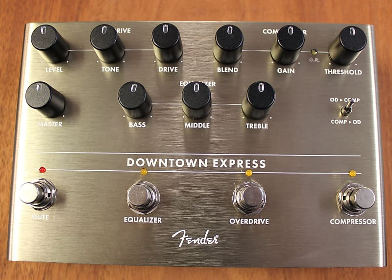 fender downtown express bass multi effects pedal reverb. Black Bedroom Furniture Sets. Home Design Ideas