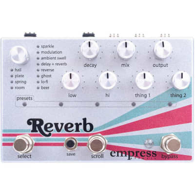 Empress Effects Reverb Pedal