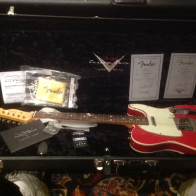 Fender '59' Custom Shop, Masterbuilt Jason Smith Telecaster, Bigsby tremolo for sale