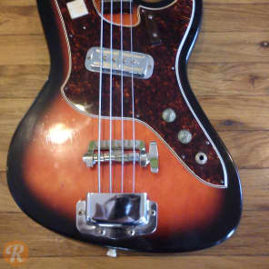 Harmony Silhouette Bass H25 Sunburst